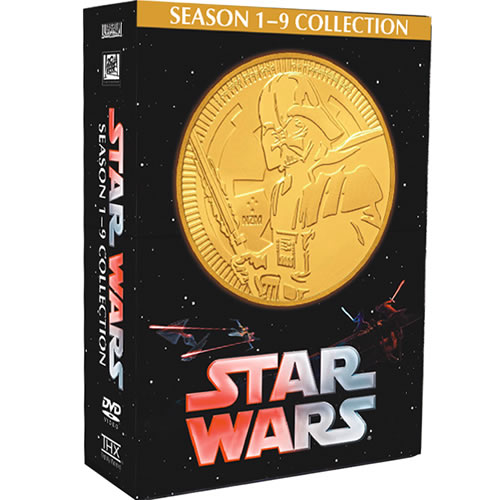 Star Wars: Complete Series 1-9 DVD For Sale