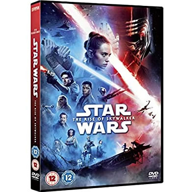 Star Wars 9: The Rise of Skywalker on DVD For Sale