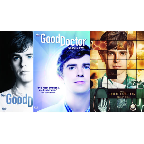 The Good Doctor: Complete Series 1-3 DVD For Sale