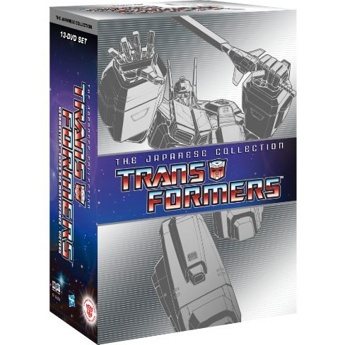 Transformers: the Japanese Collection on DVD For Sale