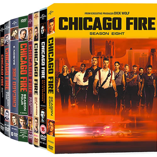 Chicago Fire: Complete Series 1-8 DVD For Sale