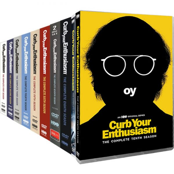 Curb Your Enthusiasm: Complete Series 1-10 DVD For Sale