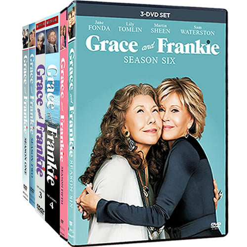 Grace And Frankie: Complete Series 1-6 DVD For Sale