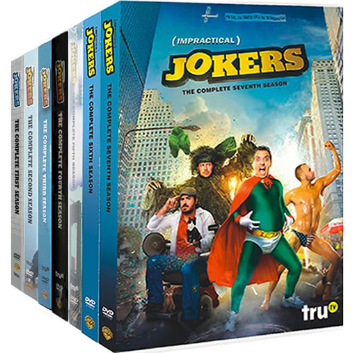Impractical Jokers: Complete Series 1-7 DVD For Sale