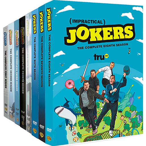 Impractical Jokers: Complete Series 1-8 DVD For Sale