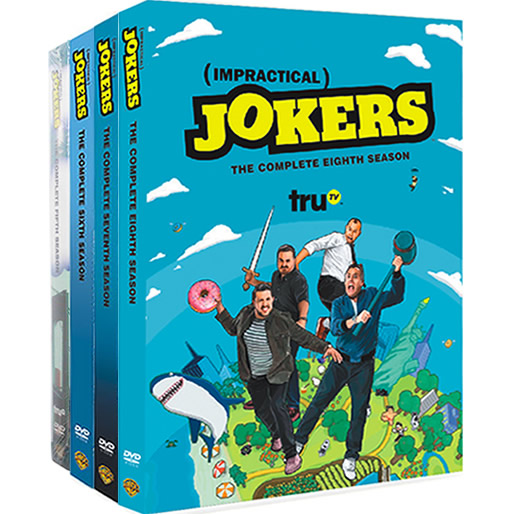 Impractical Jokers: Complete Series 5-8 DVD For Sale