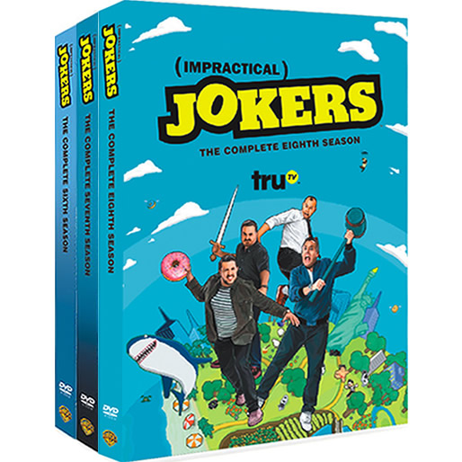Impractical Jokers: Complete Series 6-8 DVD For Sale