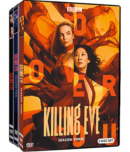 Killing Eve: Complete Series 1-3 DVD For Sale