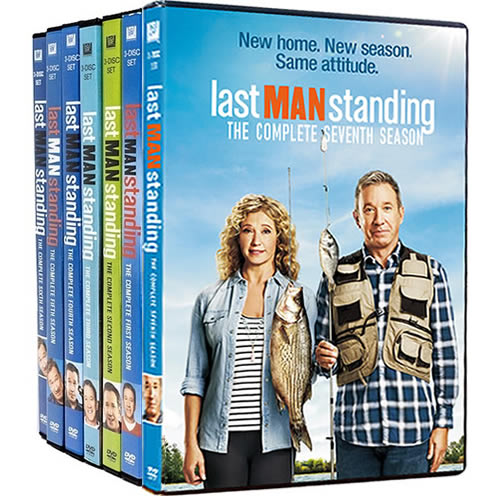 Last Man Standing: Complete Series 1-7 DVD For Sale