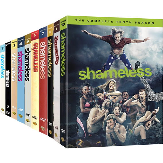 Shameless: Complete Series 1-10 DVD For Sale