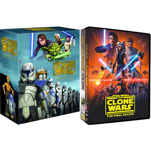 Star Wars: The Clone Wars: Complete Series 1-7 DVD For Sale