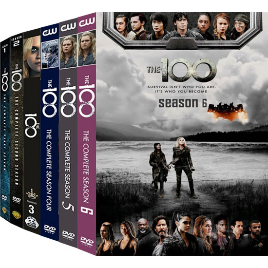 The 100: Complete Series 1-6 DVD For Sale