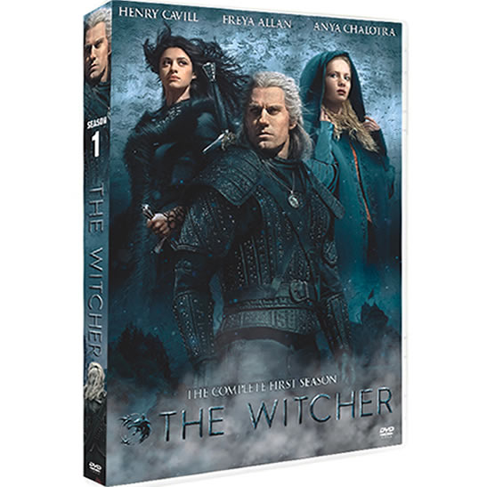 The Witcher Season 1 DVD For Sale in UK