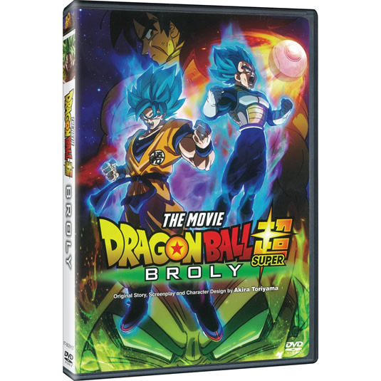 Dragon Ball Super: Broly on DVD For Sale