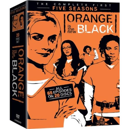 Orange Is The New Black: Complete Series 1-5 DVD For Sale