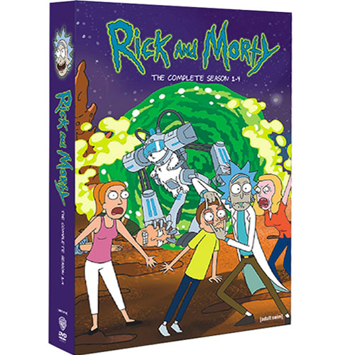 Rick and Morty: Complete Series 1-4 DVD For Sale