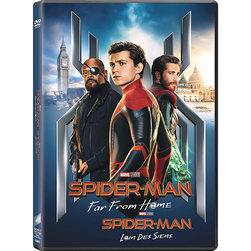 Spider-Man: Far from Home on DVD For Sale