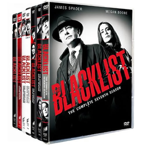 The Blacklist: Complete Series 1-7 DVD For Sale