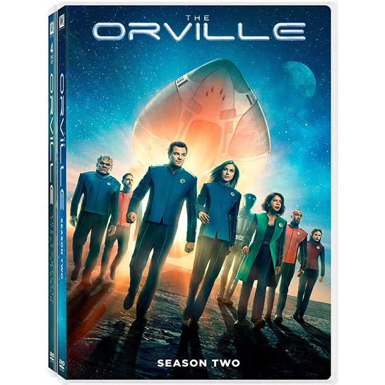 The Orville: Complete Series 1-2 DVD For Sale