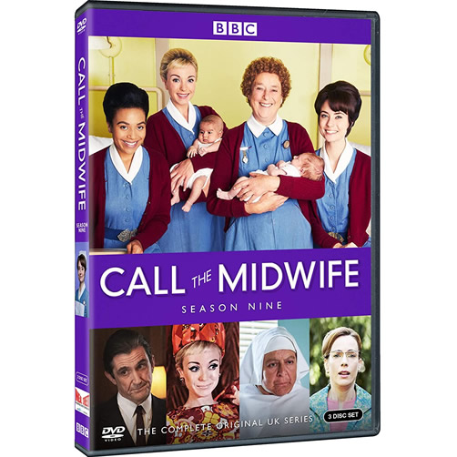 Call the Midwife Season 9 DVD For Sale in UK