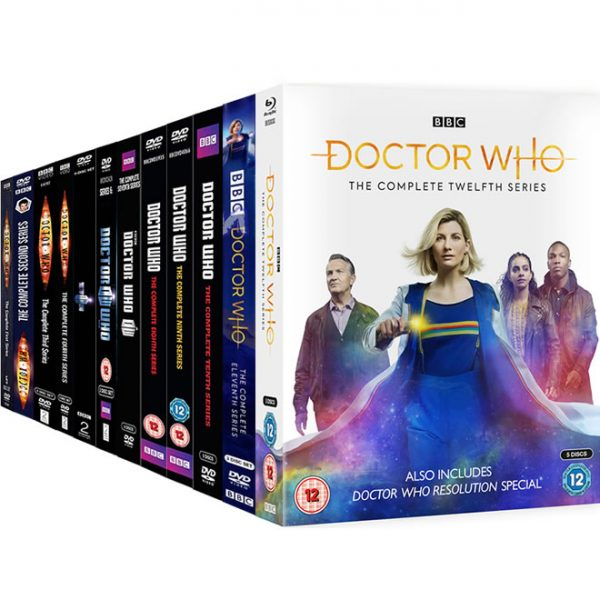 Doctor Who: Complete Series 1-12 DVD For Sale