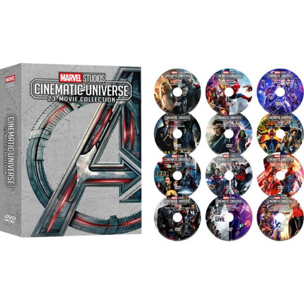 Marvel Studios Cinematic Universe 23-Movie Collection on DVD For Sale