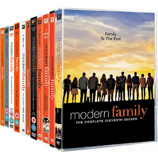 Modern Family: Complete Series 1-11 DVD For Sale