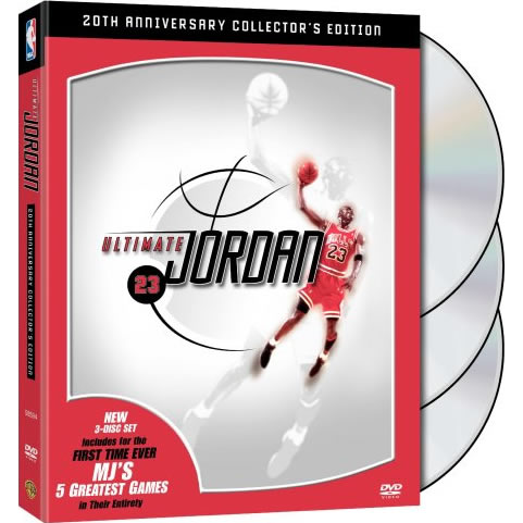 NBA: Ultimate Jordan 20th Anniversary Collector's Edition on DVD For Sale