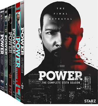 Power: Complete Series 1-6 DVD For Sale