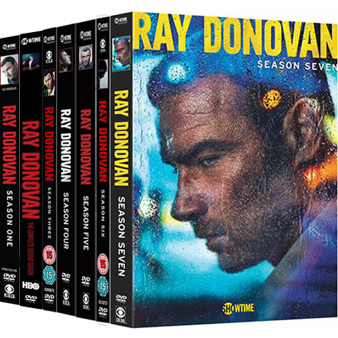 Ray Donovan: Complete Series 1-7 DVD For Sale