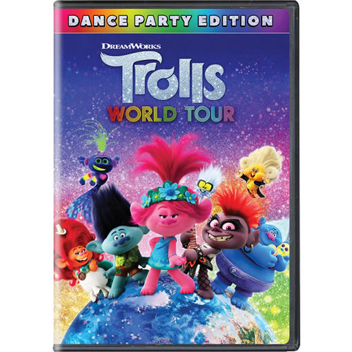 Trolls World Tour on DVD For Sale