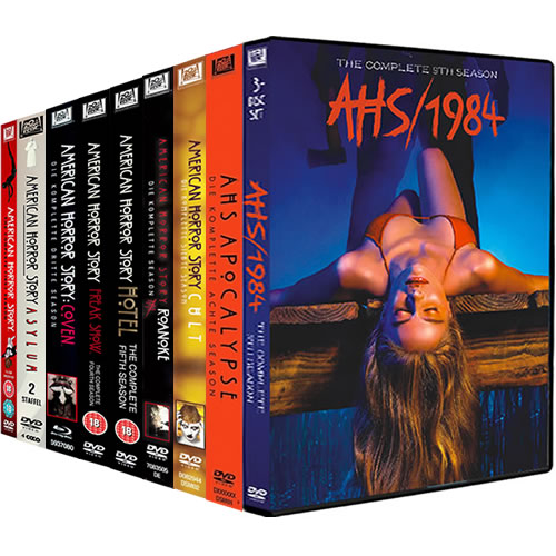 American Horror Story: Complete Series 1-9 DVD For Sale