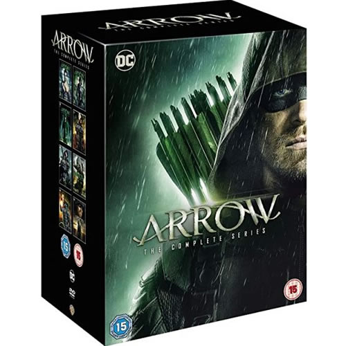 Arrow: Complete Series 1-8 DVD For Sale
