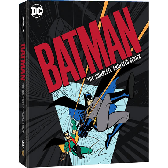 Batman: The Complete Animated Series on DVD For Sale
