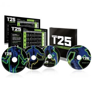 Focus T25 GAMMA 4-Disc on DVD For Sale