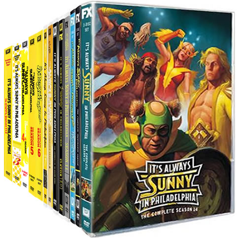 It's Always Sunny in Philadelphia: Complete Series 1-14 DVD For Sale