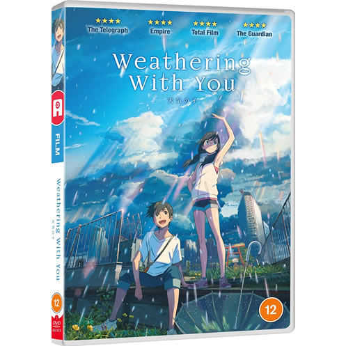 Weathering With You on DVD For Sale