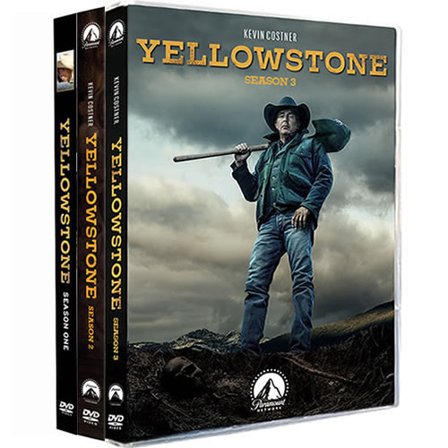 Yellowstone: Complete Series 1-3 DVD For Sale