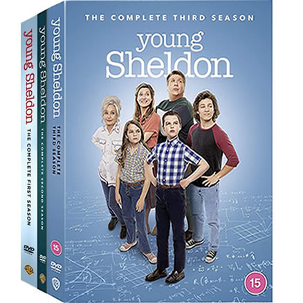 Young Sheldon: Complete Series 1-3 DVD For Sale