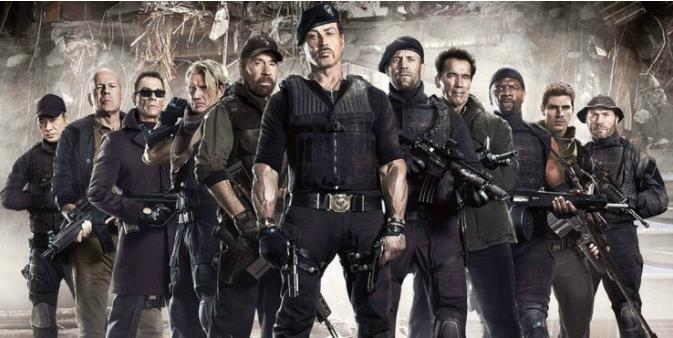 Expendables 3 Cast Lifted Weights In Between Takes