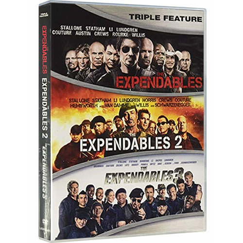 The Expendables 1-3 on DVD For Sale