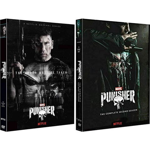 The Punisher: Complete Series 1-2 DVD For Sale