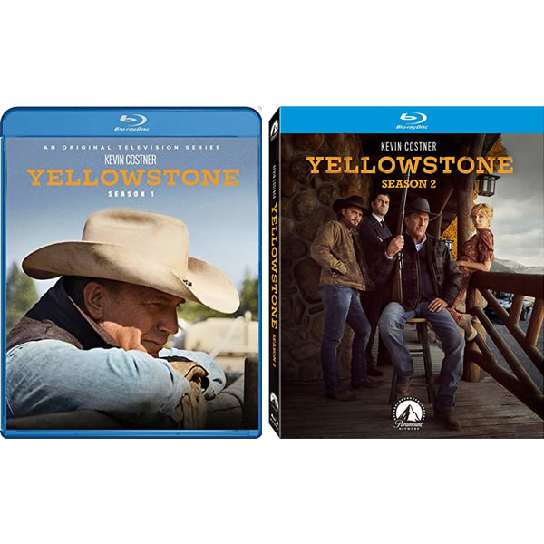 Yellowstone Complete Season 1 Blu-ray Region Free For Sale