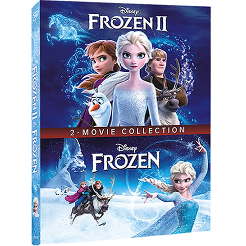 Frozen & Frozen II - 2 Movie Collection on DVD For Sale