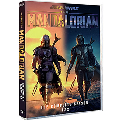 Star Wars: The Mandalorian: Complete Series 1-2 DVD For Sale