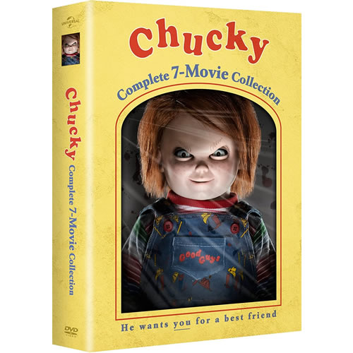 Chucky Complete 7-Movie Collection on DVD For Sale