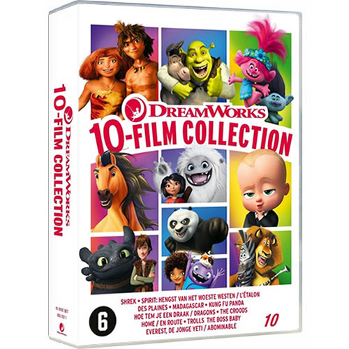 DreamWorks 10 Movie Collection on DVD For Sale