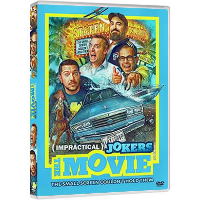 Impractical Jokers: The Movie on DVD For Sale