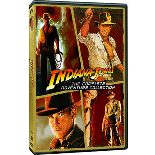 Indiana Jones The Complete Adventure Collection on DVD For Sale