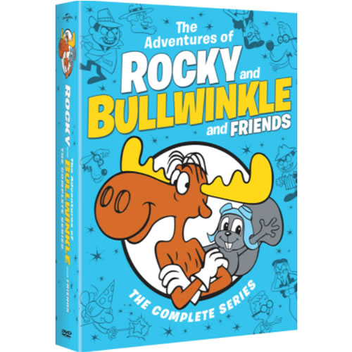 The Adventures of Rocky and Bullwinkle and Friends - Complete Series DVD For Sale